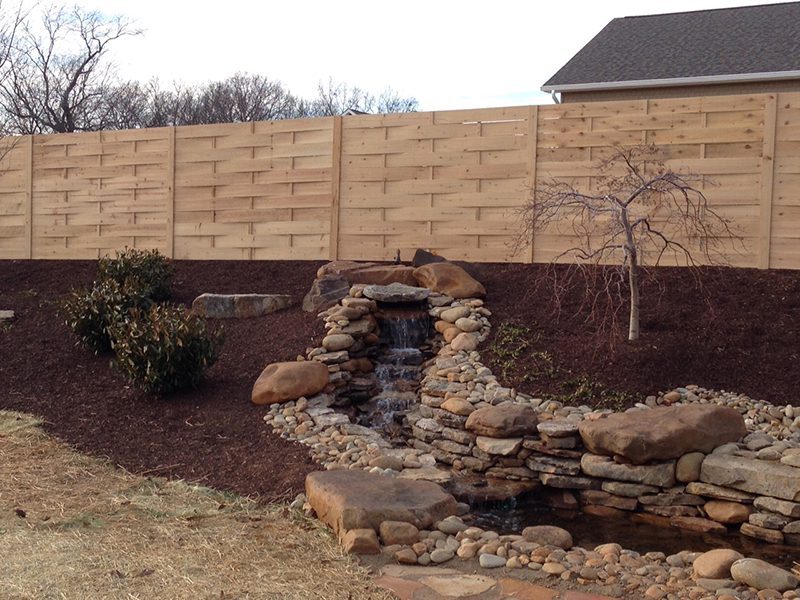 Wood Privacy Fence Champion Fence Company Maryville