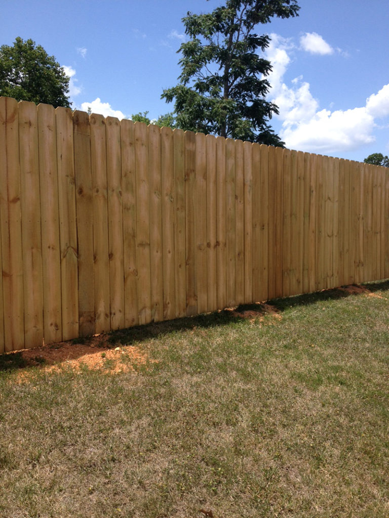 Wood Privacy Fence - Champion Fence Company | Maryville