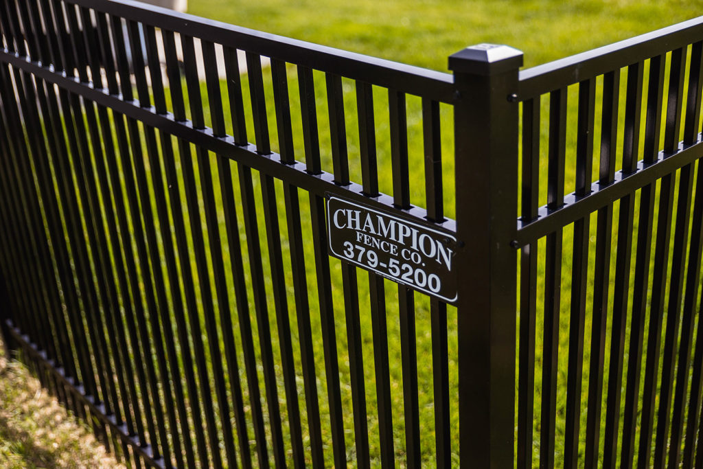 Aluminum Belhaven Double Picket Fence